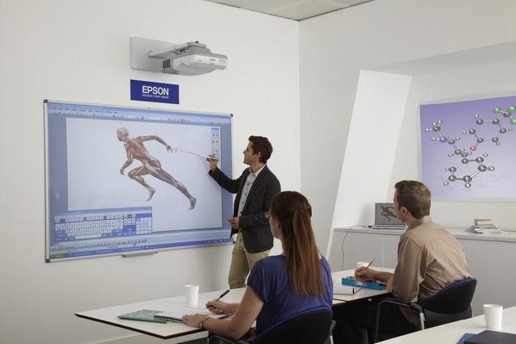 Interaktivní projektory